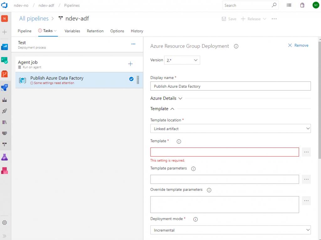 Azure DevOps with Data Factory - Nikolai Thomassen