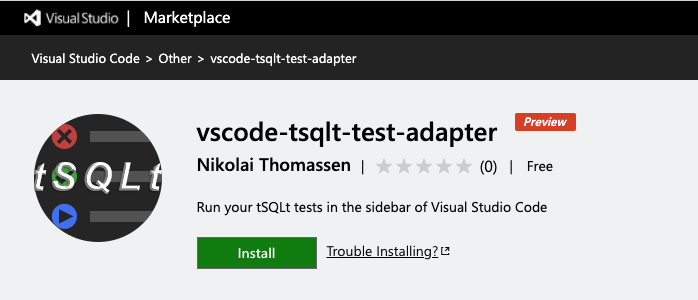 tSQLt Test Explorer for Visual Studio Code